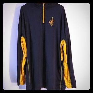 NBA Cavaliers long sleeve zip up (0080)